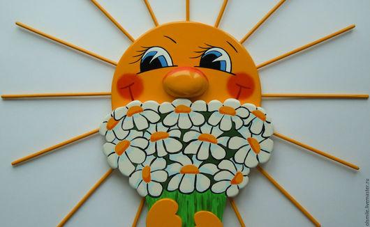 """Экстерьер и дача ручной работы. Ярмарка Мастеров - ручная работа. Купить Для дачи.Из фанеры и дерева """"Ромашковое лето""""  """"Daisy summer"""". Handmade."""