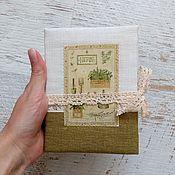 "Канцелярские товары ручной работы. Ярмарка Мастеров - ручная работа Блокнот ""Herbs"". Handmade."
