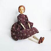 Куклы и игрушки handmade. Livemaster - original item Custom movable doll in mixed media, Sonia. Handmade.