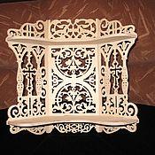 Для дома и интерьера ручной работы. Ярмарка Мастеров - ручная работа Угловая полочка под иконы. Handmade.