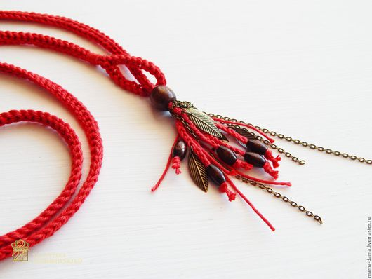 """Комплекты украшений ручной работы. Ярмарка Мастеров - ручная работа. Купить """" Кейт """" браслет-ожерелье. Handmade."""