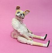 Куклы и игрушки handmade. Livemaster - original item French bulldog Charles - the dog is a symbol of 2018. Handmade.
