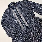 Платья ручной работы. Ярмарка Мастеров - ручная работа Платье. Нежность холода.Иней. Handmade.