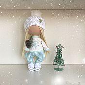 Куклы и игрушки ручной работы. Ярмарка Мастеров - ручная работа Куколка снежинка. Handmade.