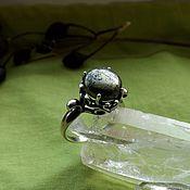 Украшения handmade. Livemaster - original item Ring with pyrite. Handmade.