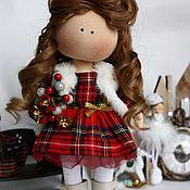 Куклы и игрушки handmade. Livemaster - original item Fabric doll Gift for a girl. Handmade.