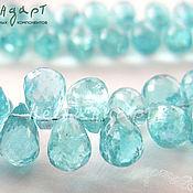 Апатит натуральный Small Drop 6-9 мм (нить 5 см) GBS073