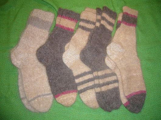 Носочки из шерсти различных пород: кавказская овчарка, ньюфаундленд, колли, пудель, чау-чау