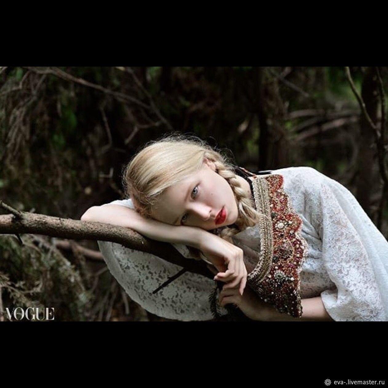 Оплечье Царевна-лягушка, Пояса очелья тесемки, Москва,  Фото №1