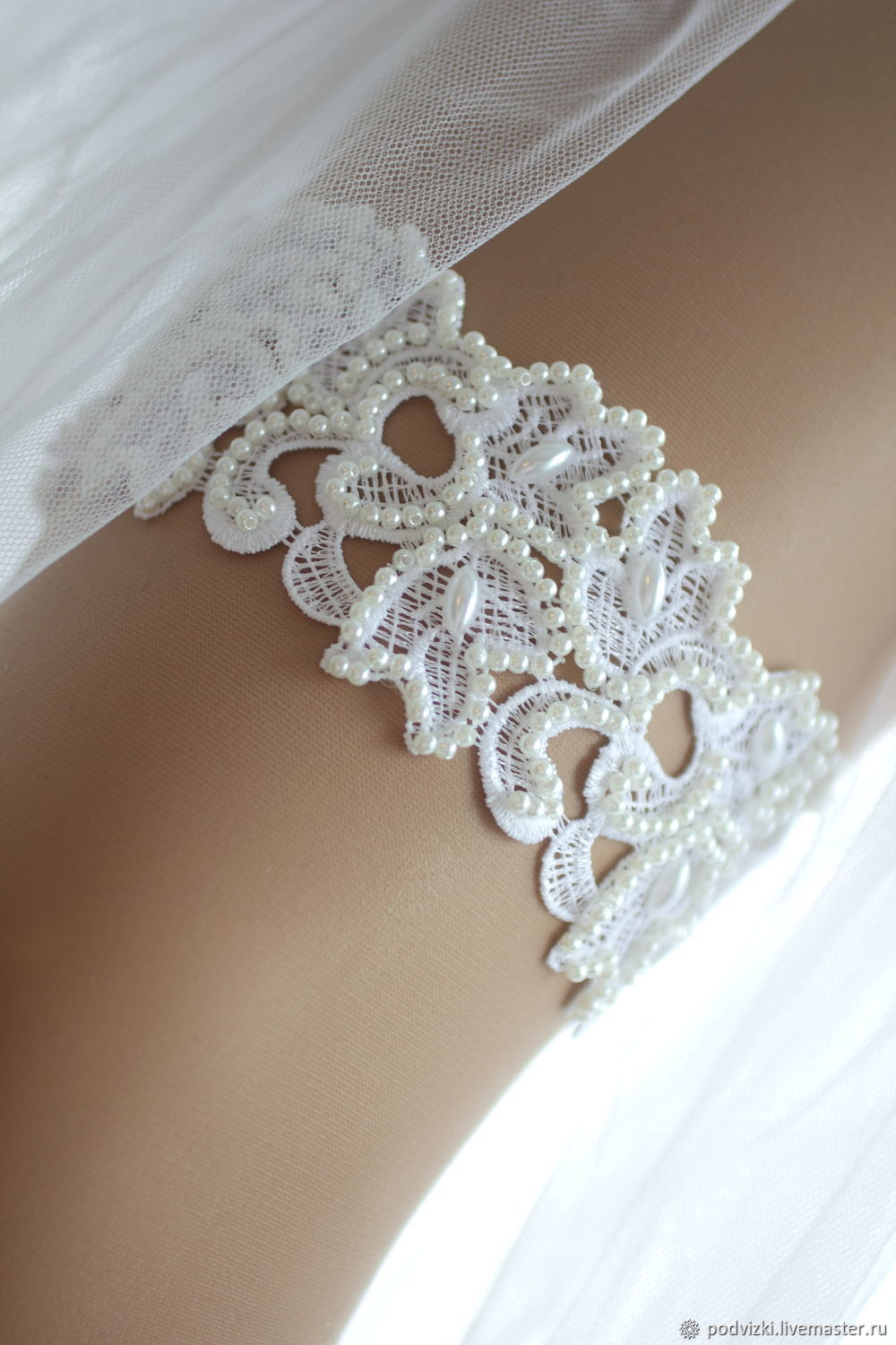 73dbe2d28 Buy Garter for the bride wedding Vintage · Clothing   Accessories handmade.  Garter for the bride wedding Vintage. Wedding Dreams.