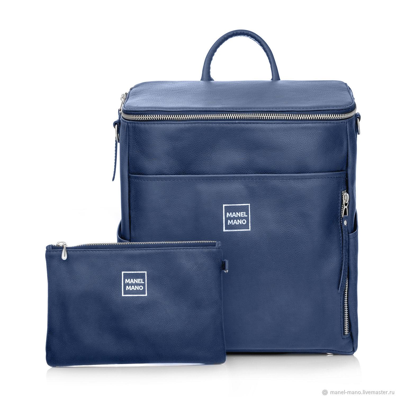 Рюкзак FUSTO синий BLUE / NICKEL, Рюкзаки, Санкт-Петербург,  Фото №1