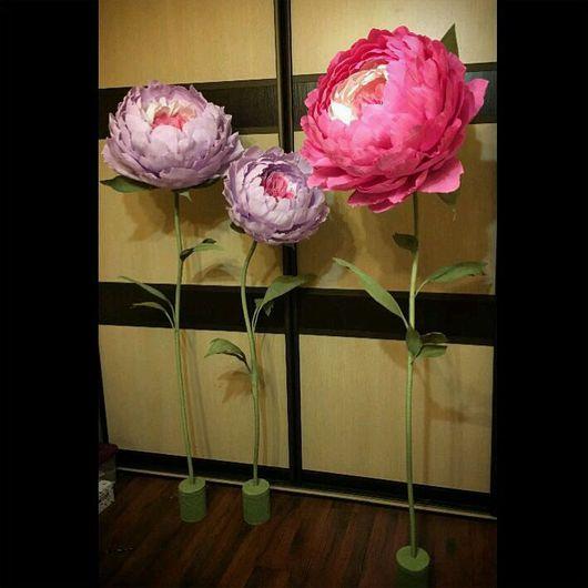 Ростовая роза из гофрированной бумаги своими руками пошаговая инструкция 29