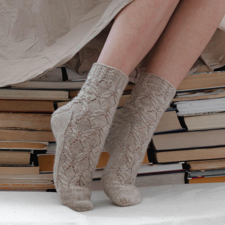 Вязаные носки, Носки, Асбест,  Фото №1