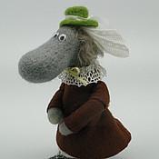 Куклы и игрушки ручной работы. Ярмарка Мастеров - ручная работа Хемулиха - директриса дома для подкидышей муми-троллей. Handmade.