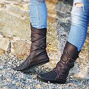 """Обувь ручной работы. Ярмарка Мастеров - ручная работа Кожаные мокасины """"Black & Brown"""". Handmade."""