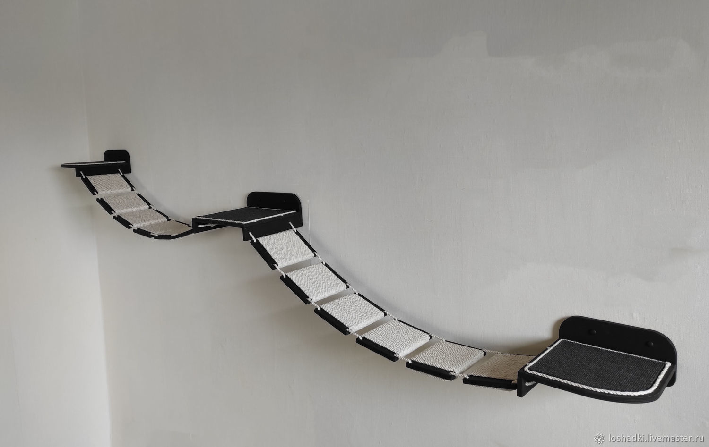 Bridge for cats ' Otrada-double', Accessories for Pets, Pleasant,  Фото №1