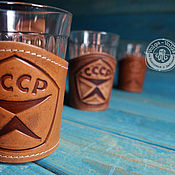 Посуда handmade. Livemaster - original item Cup holder for faceted glass