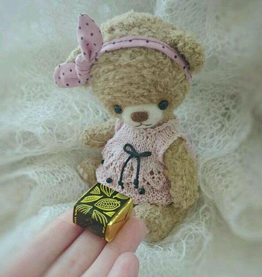 Мишки Тедди ручной работы. Ярмарка Мастеров - ручная работа. Купить Мишка тедди Стефания. Handmade. Мишка ручной работы