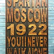 Для дома и интерьера handmade. Livemaster - original item Spartak Cabinet.. Handmade.