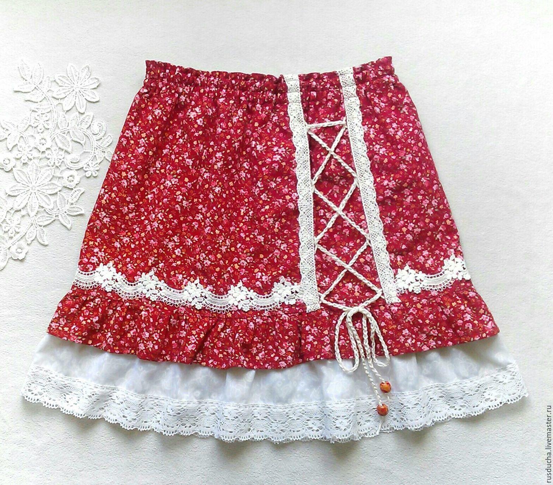 Двухслойная юбка своими руками