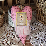 Подарки к праздникам ручной работы. Ярмарка Мастеров - ручная работа Сердце Тильда. Handmade.