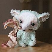Куклы и игрушки ручной работы. Ярмарка Мастеров - ручная работа Лисичка тедди. Handmade.