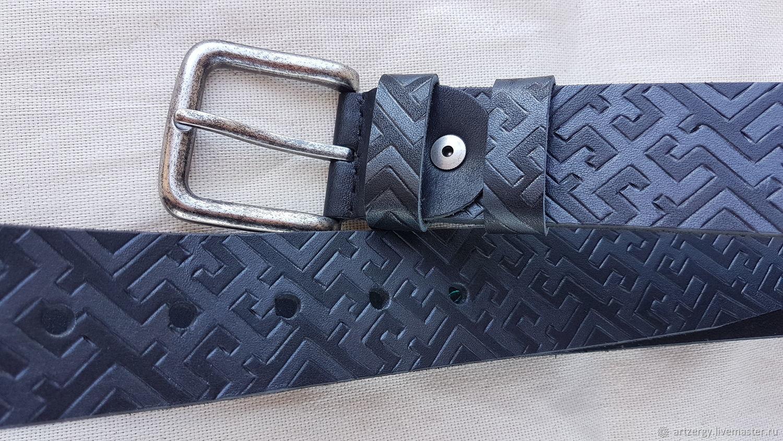 DUKHOBOR, ORNAMENT strap leather, Straps, Moscow,  Фото №1