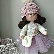 Мягкие игрушки ручной работы. Ярмарка Мастеров - ручная работа Игрушки: кукла Даша. Handmade.