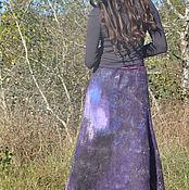 """Одежда ручной работы. Ярмарка Мастеров - ручная работа Валяная юбка """"Космос"""". Handmade."""