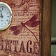 """Часы для дома ручной работы. Часы """"VINTAGE"""". Некрасова Екатерина (katxarina). Интернет-магазин Ярмарка Мастеров. Часы интерьерные"""