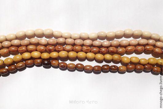 Для украшений ручной работы. Ярмарка Мастеров - ручная работа. Купить Бусины / дерево / овал 9х6 мм. Handmade.