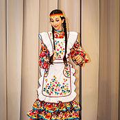 Одежда ручной работы. Ярмарка Мастеров - ручная работа Башкирский танец. Handmade.
