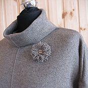 Одежда ручной работы. Ярмарка Мастеров - ручная работа Платье Кашемировый шелк. Handmade.