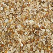 Песок ручной работы. Ярмарка Мастеров - ручная работа Ракушечный песок морской для декора натуральный 1кг. Handmade.