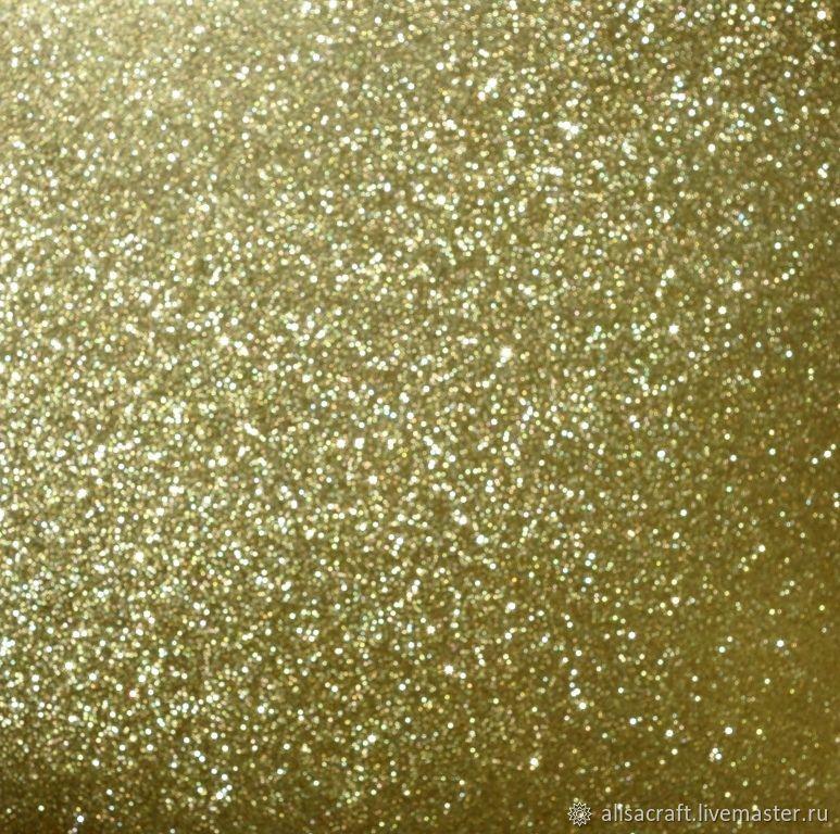 Бумага с золотым глиттером, 30х30 см, Бумага, Москва,  Фото №1