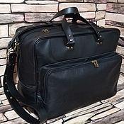 Сумки и аксессуары handmade. Livemaster - original item Classic bag: Men`s Leather GANYMEDE maxi Bag. Handmade.