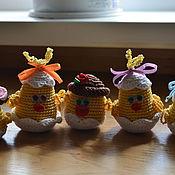Куклы и игрушки ручной работы. Ярмарка Мастеров - ручная работа Цыплятки. Handmade.