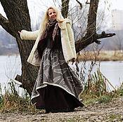 Одежда ручной работы. Ярмарка Мастеров - ручная работа Юбка в стиле бохо. Юбка на зиму.. Handmade.