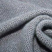 Одежда ручной работы. Ярмарка Мастеров - ручная работа Серый джемпер из пряжи с люрексом. Handmade.