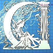 Материалы для творчества handmade. Livemaster - original item chipboard elf 02-1113. Handmade.