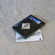 Канцелярские товары handmade. Livemaster - original item Student ID card cover. Handmade.