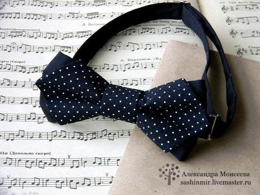 Галстуки, бабочки ручной работы. Ярмарка Мастеров - ручная работа. Купить Бабочка-галстук. Handmade. Черный, галстук бабочка, ткань