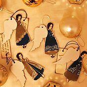 Подарки к праздникам ручной работы. Ярмарка Мастеров - ручная работа Ангелы - Золотая коллекция - 1. Handmade.