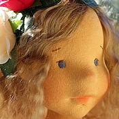"""Куклы и игрушки ручной работы. Ярмарка Мастеров - ручная работа Вальдорфская кукла """"Ксения"""", 48 см. Handmade."""