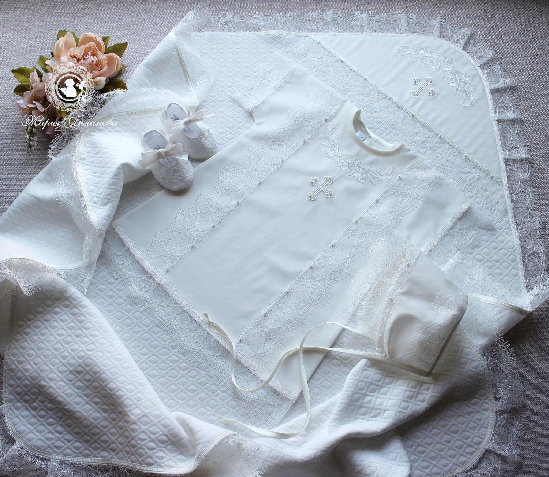 Baptismal set 'Vanilla', Baby Clothing Sets, Balakovo,  Фото №1