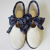 Обувь ручной работы. Ярмарка Мастеров - ручная работа Валяные туфли. Handmade.
