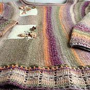 Одежда ручной работы. Ярмарка Мастеров - ручная работа Бохо джемпер Сухоцвет. Handmade.