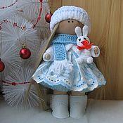 """Тыквоголовка ручной работы. Ярмарка Мастеров - ручная работа """"Снегурочка"""" Текстильная кукла. Handmade."""
