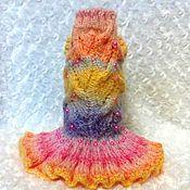"""Для домашних животных, ручной работы. Ярмарка Мастеров - ручная работа платье """"Радуга"""". Handmade."""