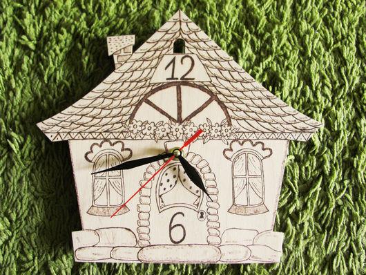 Часы для дома ручной работы. Ярмарка Мастеров - ручная работа. Купить Часы настенные ручной работы. Handmade. Бежевый